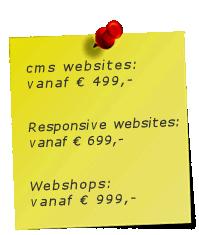 i-match website ontwikkeling prijzen